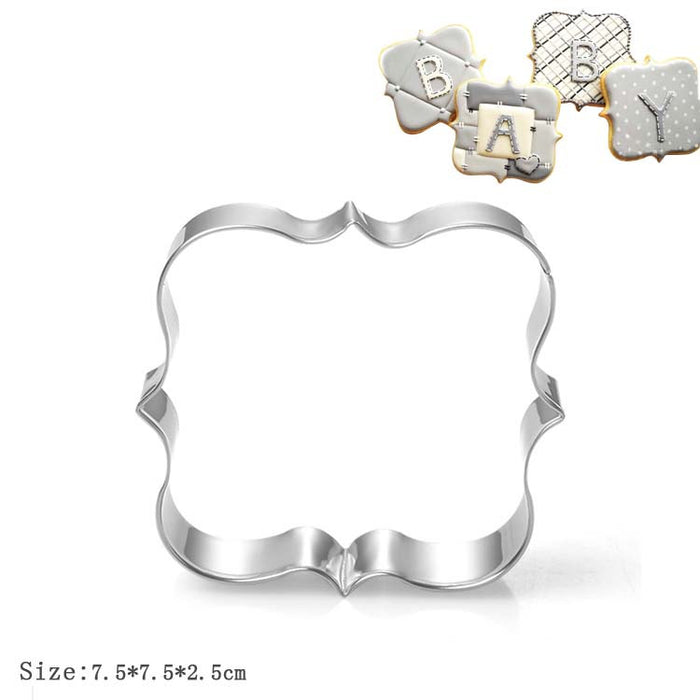 Decorative Frame Plaque Cookie Cutter (Square)