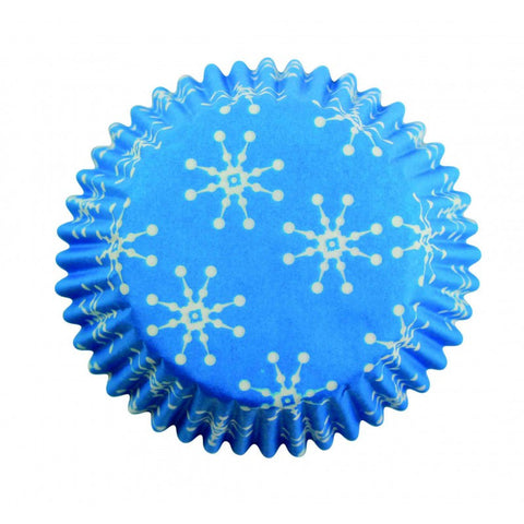 PME Snowflake Standard Cupcake Cases (Pack of 60)
