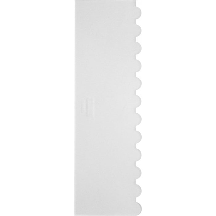 PME - Ribbed Tall Patterned Edge Side Scraper