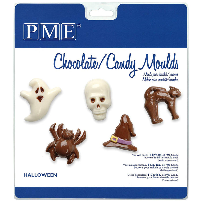 PME Chocolate / Candy Moulds - Halloween