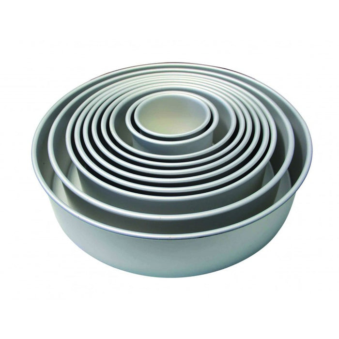 PME 4 Inch Deep Round Cake Pan- 6 Inch