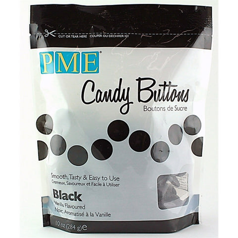 PME Black Candy Buttons 340g