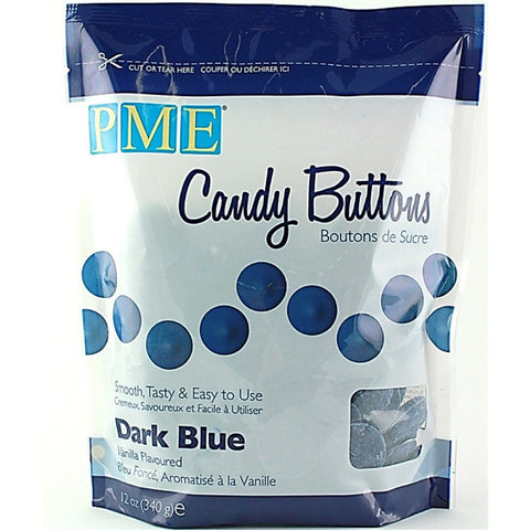 PME Dark Blue Candy Buttons 340g