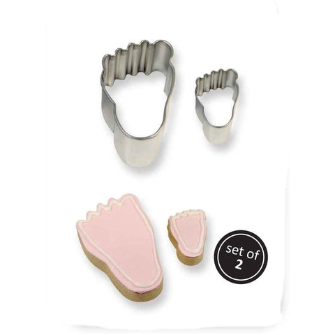 PME Foot Cookie Cutters 2 piece