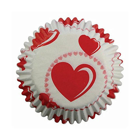 PME Hearts Cupcake Cases (Pack of 60)