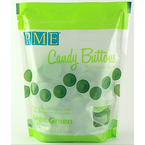 PME Light Green Candy Buttons 340g