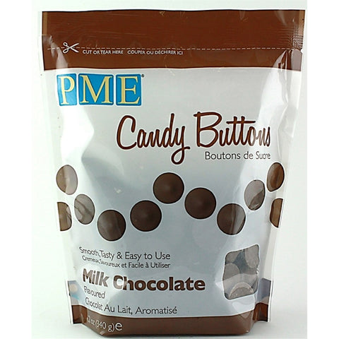 PME Milk Chocoloate Candy Buttons 340g