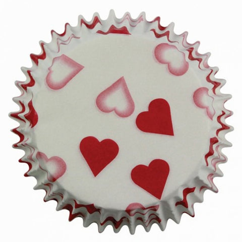 PME Petite Hearts Cupcake Cases (Pack of 60)