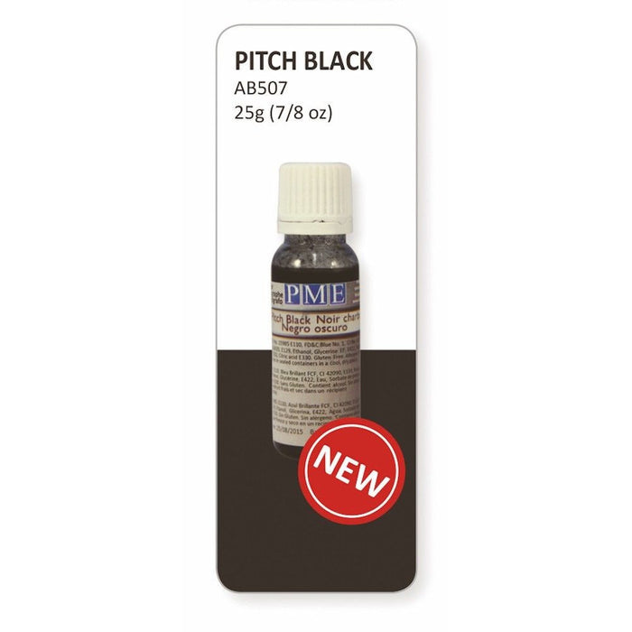 PME Airbrush Colours - PITCH BLACK