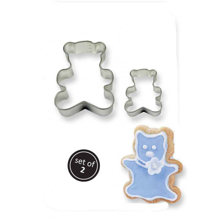 PME Teddy Cookie Cutter Set of 2