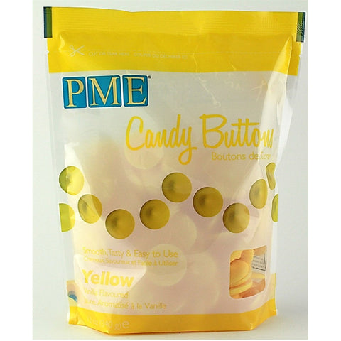 PME Yellow Candy Buttons 340g