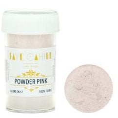 Faye Cahill  Edible Lustre Dusts- Powder Pink