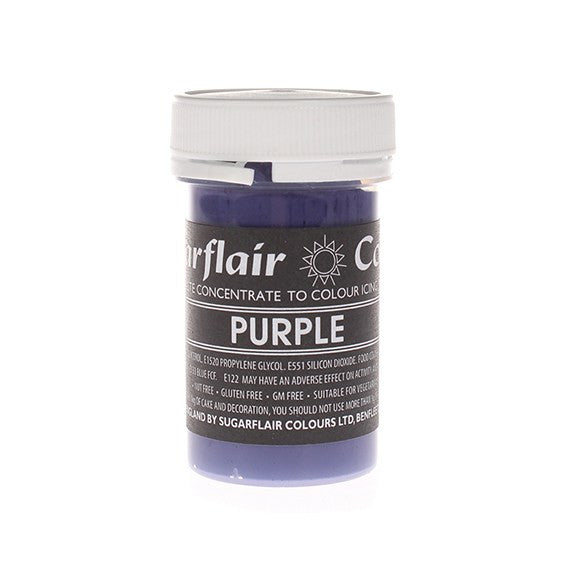 Sugarflair Paste Colours - Purple- 25g
