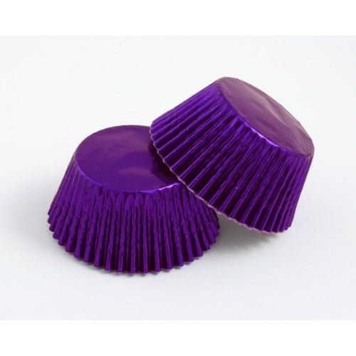 High Quality Foil Baking Muffin/ Cupcake Cases- Purple Pack 56