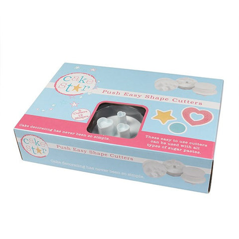Cake Star Shape Cutters - 6 Piece