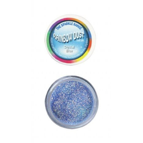 Rainbow Dust Sparkle Range - Crystal Blue