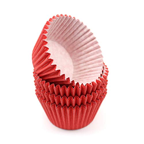 High Quality Baking Muffin/ Cupcake Cases- Red