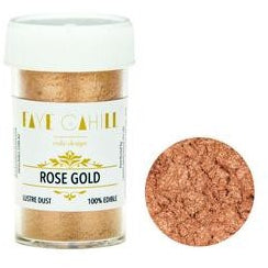 Faye Cahill  Edible Lustre Dusts- Rose Gold