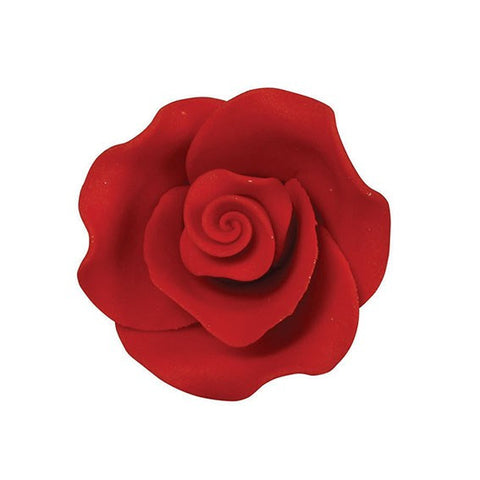 Soft Sugar Rose - Red 38mm
