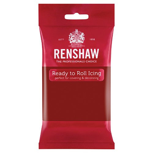 Renshaw Sugar Paste - Ruby 250g