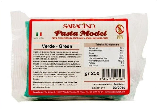 Saracino 250g Modelling Paste- Green