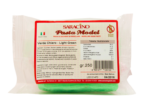 Saracino 250g Modelling Paste- Light Green