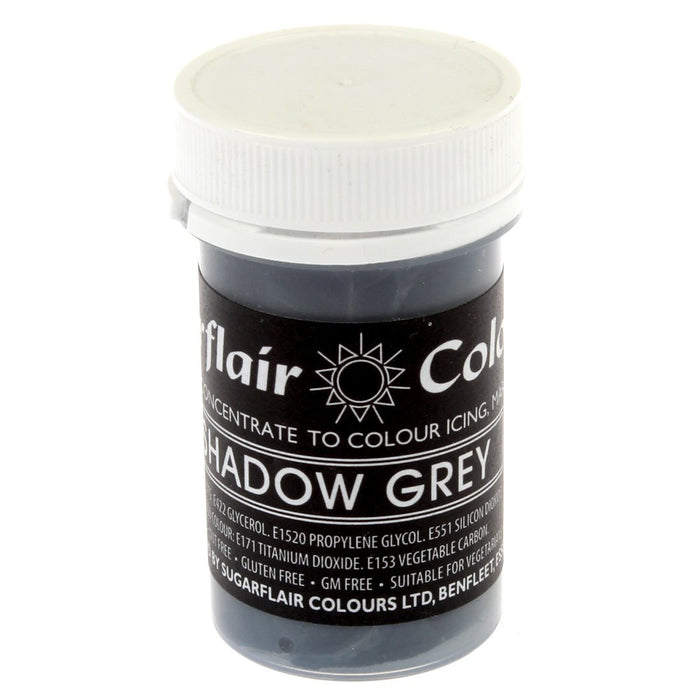 Sugarflair Paste Colours - Pastel Shadow Grey- 25g