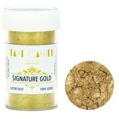 Faye Cahill  Edible Lustre Dusts- Signature Gold