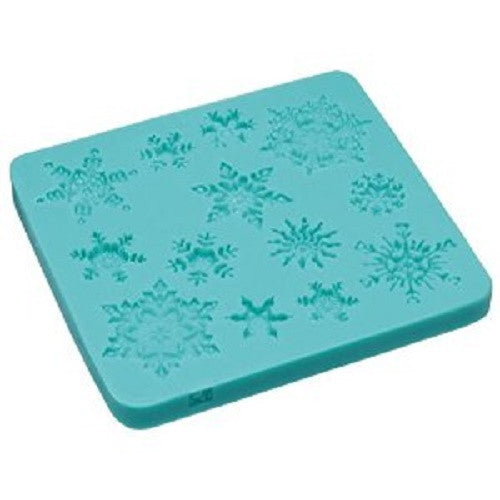 Snowflakes Silicone Fondant Mould