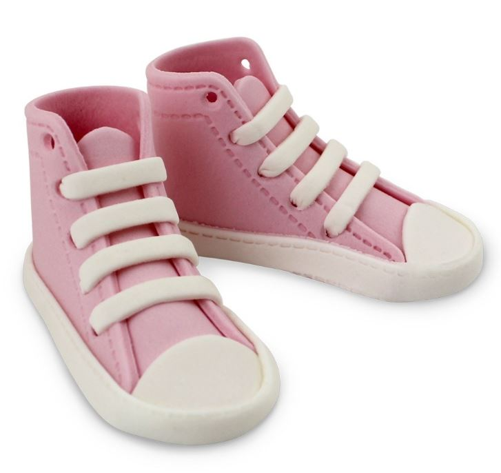 PME Edible High Top Sneakers - Pink