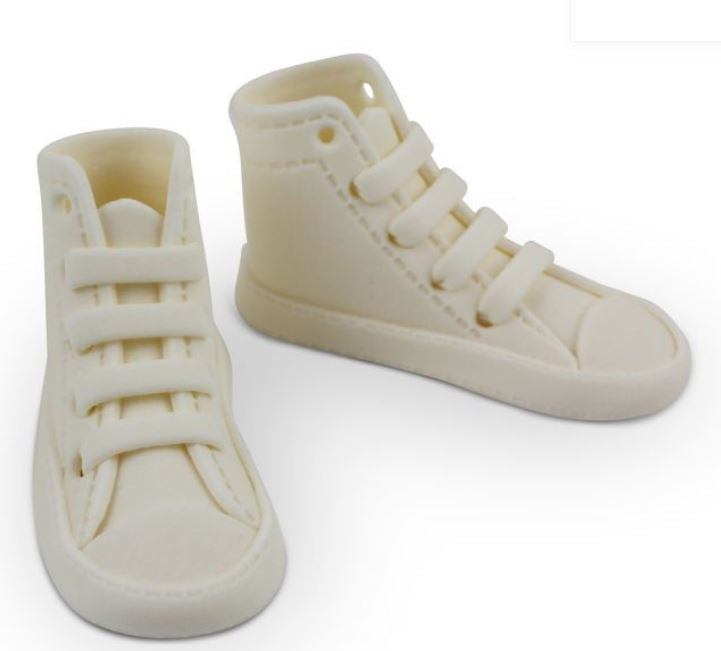 PME Edible High Top Sneakers - White