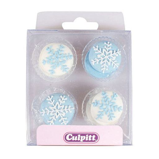 Snowflakes Sugar Decorations