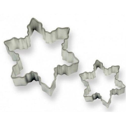 PME Snowflake Cookie Cutters 2 Piece