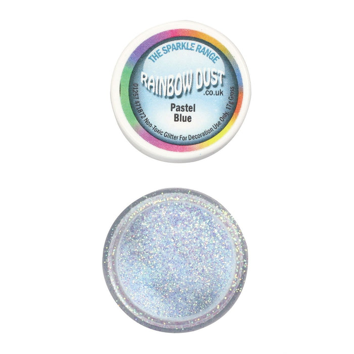 Rainbow Dust Sparkle Range - Pastel Blue