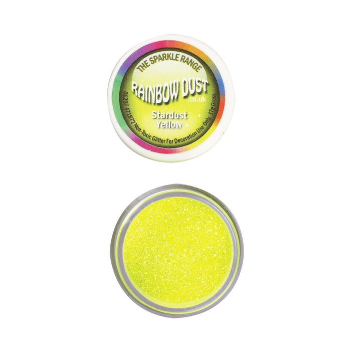Rainbow Dust Sparkle Range - Stardust Yellow