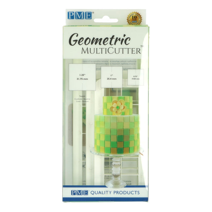 PME Geometric Multicutter - Square - Set of 3