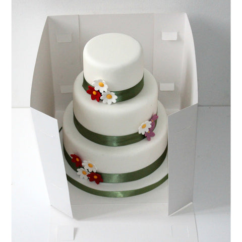 8 Inch Stacked Cake Box