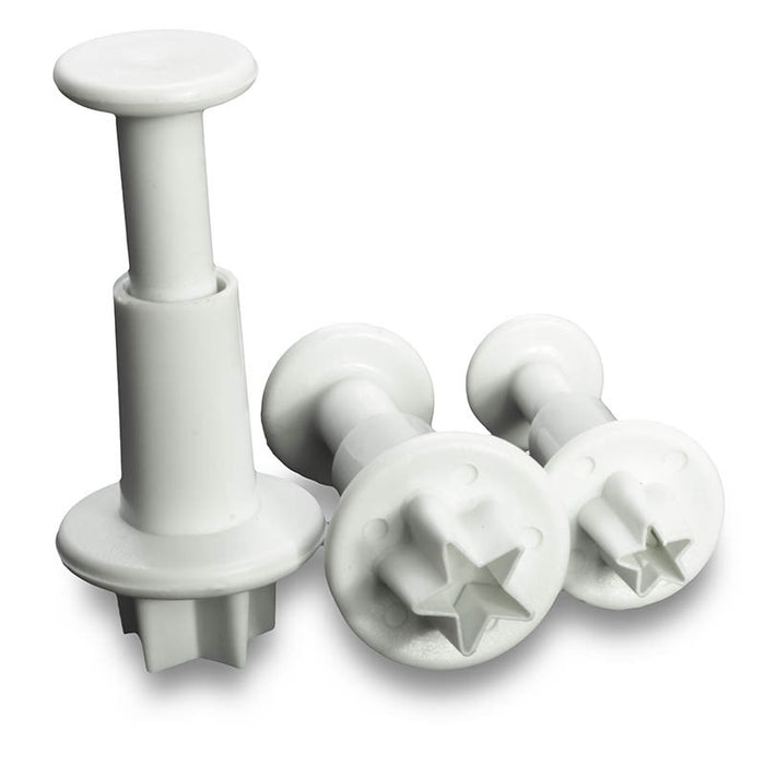 Cake Star Star Plunger Cutter - 3 Set