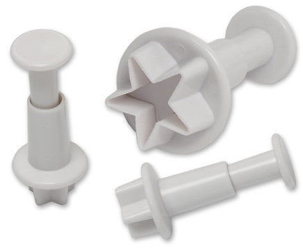 Set of 3 Star Plunger Cutter