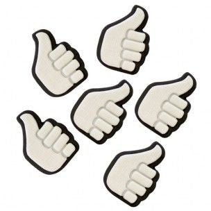 PME Sugar Decorations - Thumbs Up 6/pk