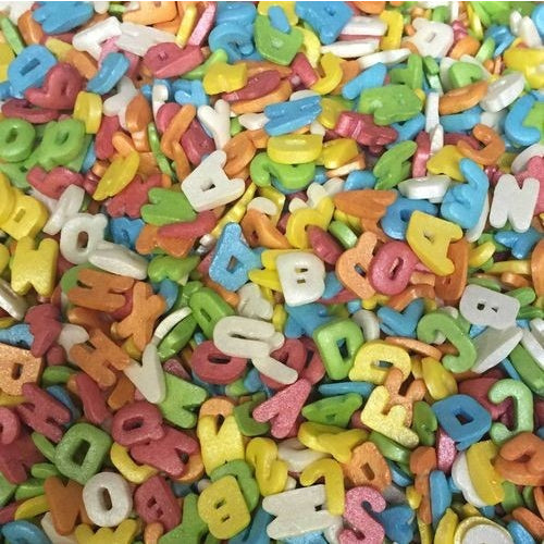 PME Sprinkles - Letters (50g)