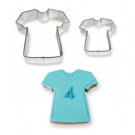 PME T-Shirt Cookie Cutters 2 Piece