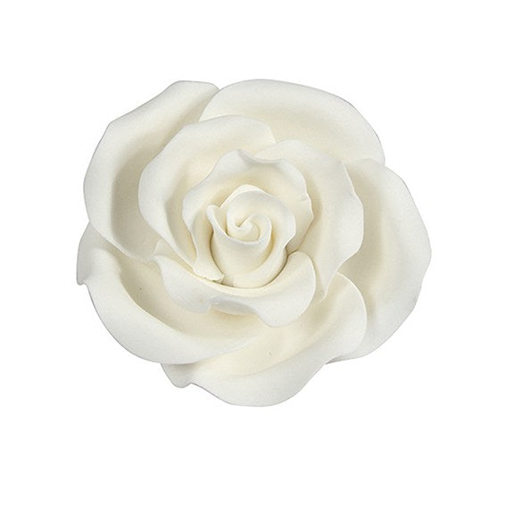SugarSoft® Rose Lustre White 50mm (Large)
