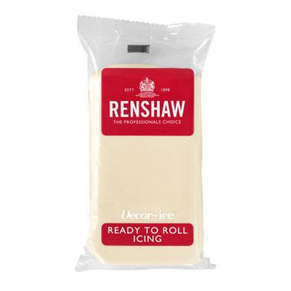 Renshaw Sugar Paste - White Chocolate 250g
