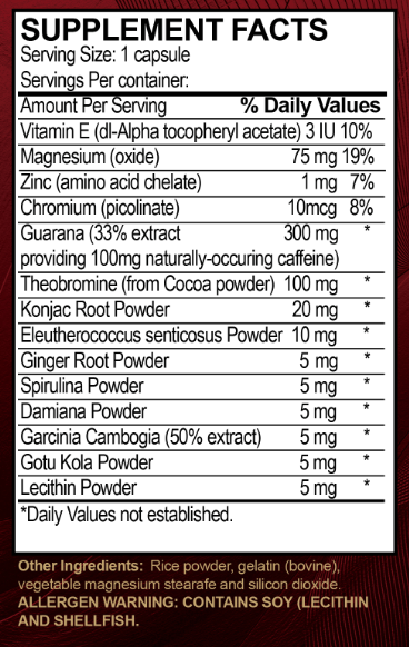 Vida Divina Life Capsule Ingredients