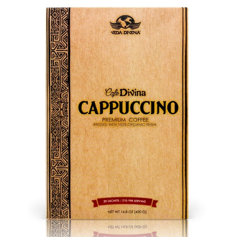 Café Divina® Cappuccino Coffee - Double Take Body