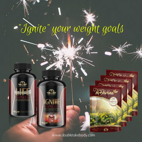Vida Divina Ignite, Te Divina and Life Capsules Combo Pack - Double Take Body