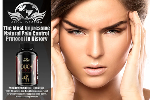Vida Divina OUCH Capsules. Relieve pain naturally.