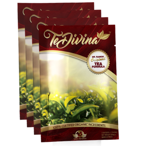 TeDivina® Original Detox Tea (4 Individual Packs) - Double Take Body