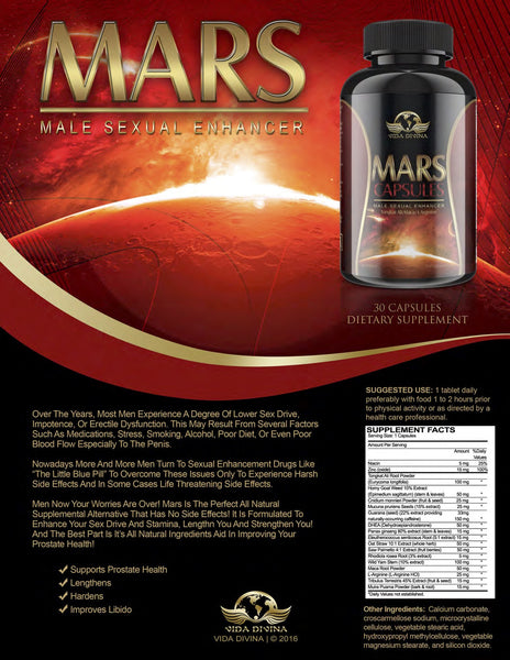 Vida Divina® Mars Capsules - Double Take Body